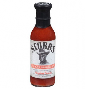 Соус барбекю Texas Sriracha 340г бутылка/стекло SB